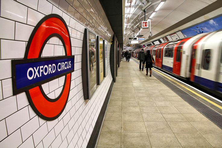The London Tube stop at Oxford Circus http://www.nyhabitat.com/blog/2014/06/16/london-basic-tips-etiquette-visitors/