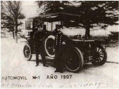 Mis fotos de Madrid: El primer coche que circuló por Madrid