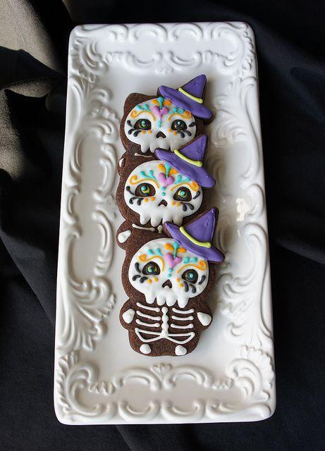 #sugar #skull #cookies