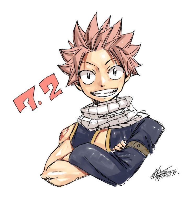 "Natsu, chasseur de Dragon de feu, fils d'Igneel. Surnommé, ""La Salamandre"""