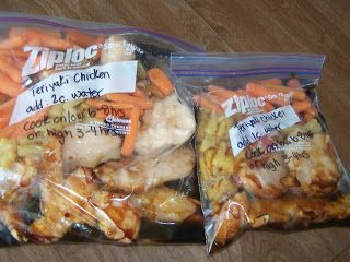 A to Z for Moms Like Me: Crockpot Freezer Meals  and http://atozformomslikeme.blogspot.com/2013/01/crock-pot-freezer-meals-2.html