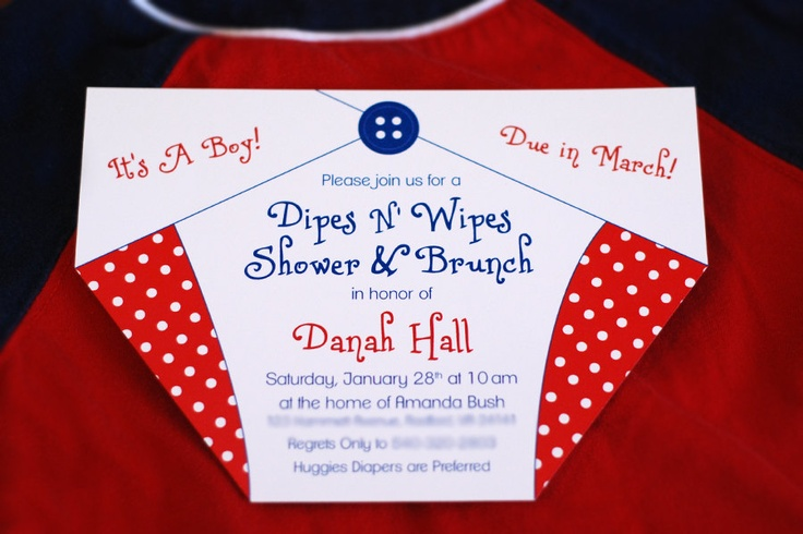diaper baby shower invitations design pinterest diaper babies