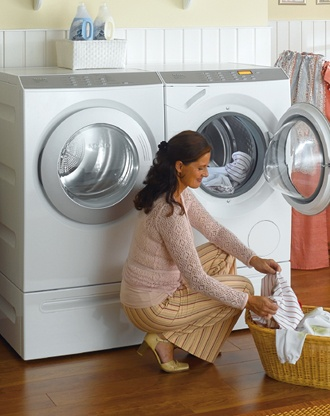 I read about the amazing Miele washing machines in Vogue. Sure, it's $2,000+ but you can literally wash 90% of your wardrobe so you will save money when you consider drycleaning costs. Forget diamonds and couture, I want a washing machine!