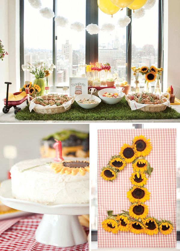Indoor Picnic Party {First Birthday} // Hostess with the Mostess®