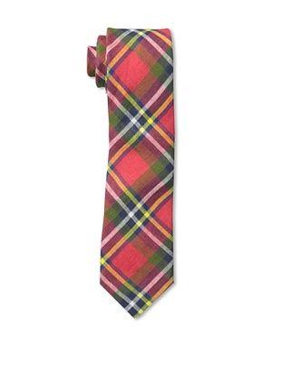53% OFF Gitman Men's Multi Plaid Tie, Red