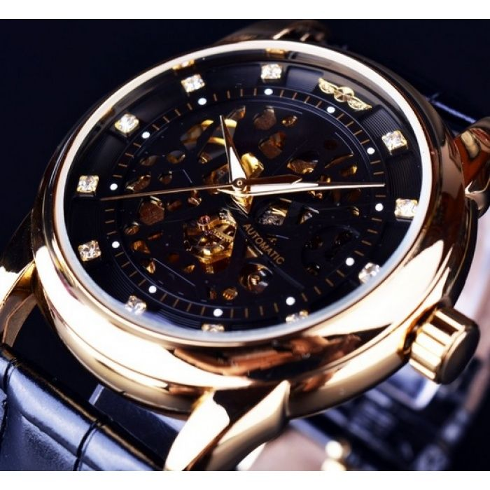 17 best images about stunning men s watches by addic cheap watch music buy quality watch gel directly from watch dora suppliers winner royal diamond design black gold watch montre homme mens watches