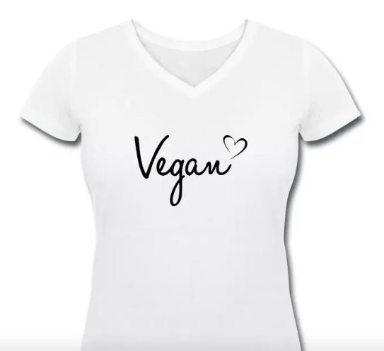 Vegan Women T-Shirt #vegan #veganfashion #veganquote #fashion