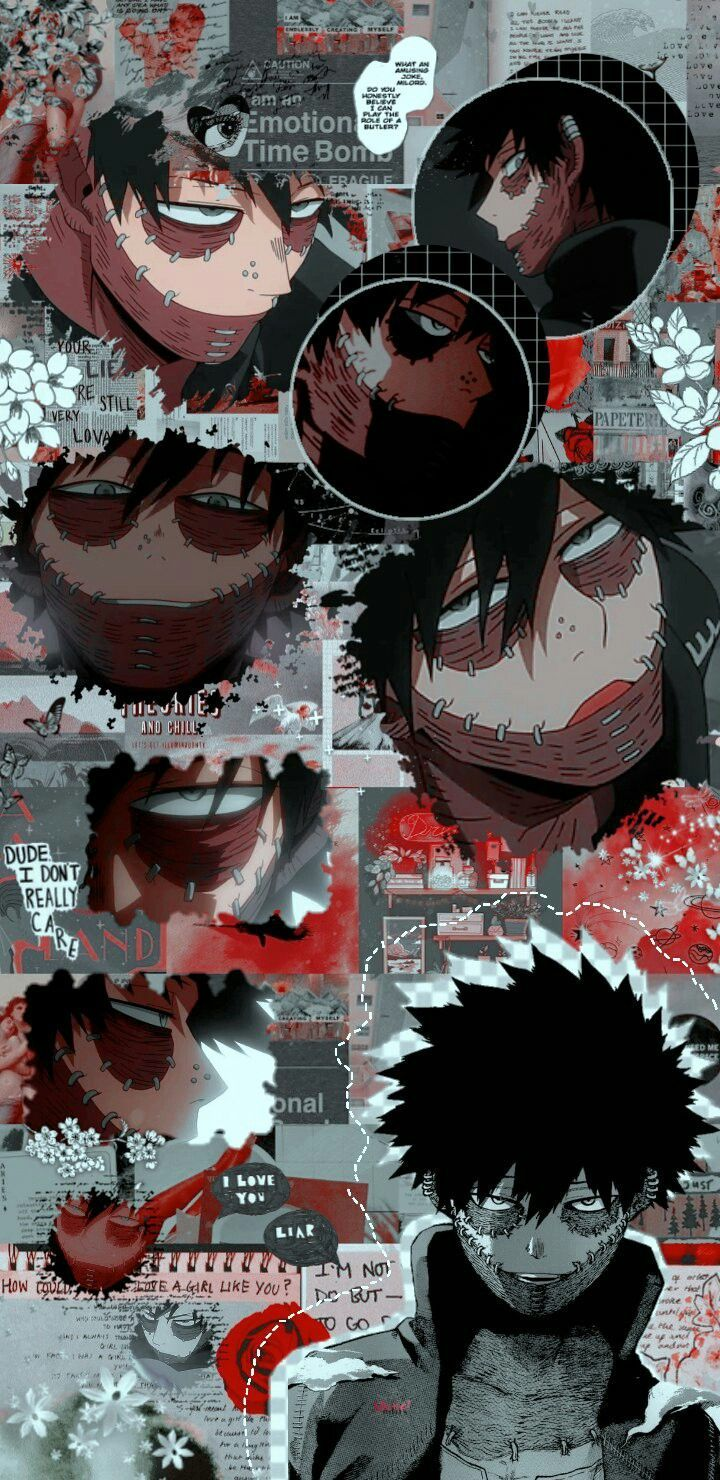 wallpaper aesthetic dabi boku no in 2020 anime