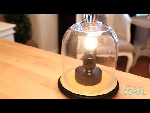 ▶ Suite Living: Hockey Puck Light! Learn how to make a hockey puck light that is customized with your teams colours! Perfect for a man cave or kids bedroom!