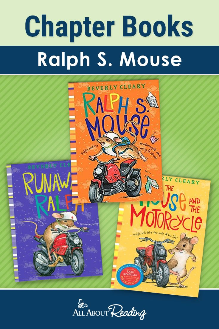 Looking for a fun chapter book series for your child? Ralph S. Mouse by Beverly Cleary is a wonderful series aimed for ages 8-12.