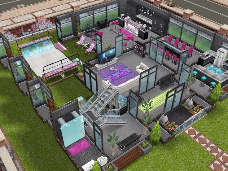 271 best Sims Freeplay images on Pinterest | Sims house, House ...