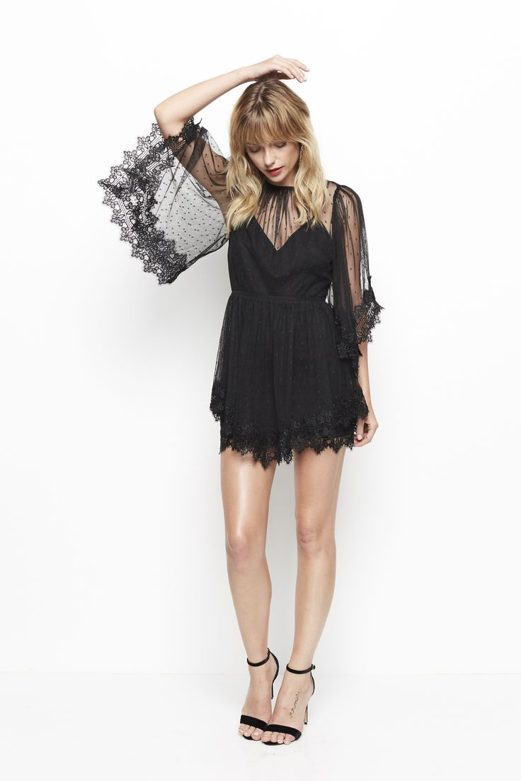 Alice McCALL - Pre-Order Alice Mccall Lucky Charm Dress Black