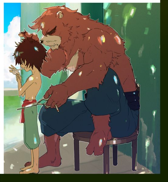 The Boy and the Beast #Kumatetsu #Kyuta (by ちさ)