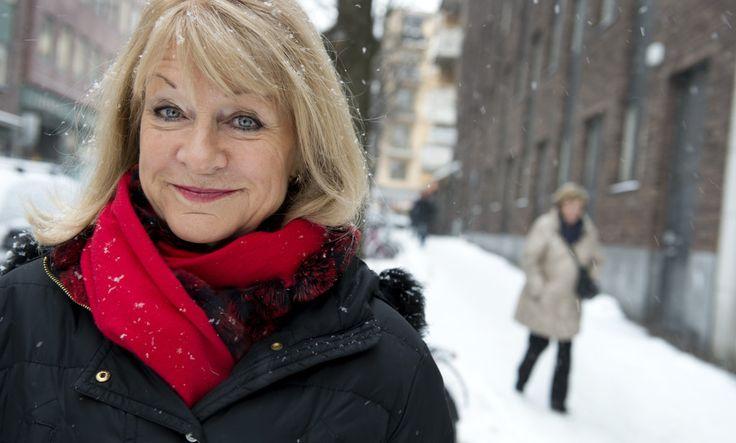 STOCKHOLM 2012-12-21 Alexandra Charles,  ordförande i 1,6 miljonerklubben och 2,6 miljonerklubben, ideella föreningar som arbetar för kvinnors hälsa Foto: Lars Pehrson / SvD / SCANPIX / Kod 30152 ** OUT DN (även arkiv) **