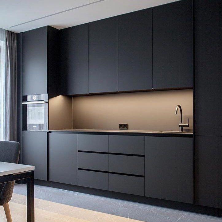 Harmonious Grey Kitchen Cabinet Additional Info Minimal Kitchen Design Modern Kitchen Design Kitchen Design