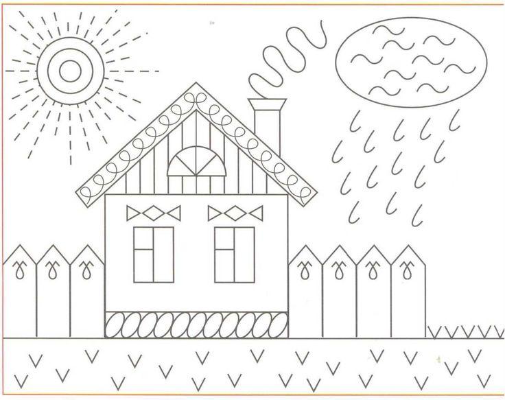 картинки штрихами для дошколят поступившее предложение создании