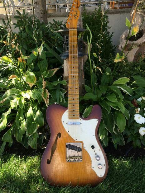 Fender Telecaster  Thinline Sunburst Rare