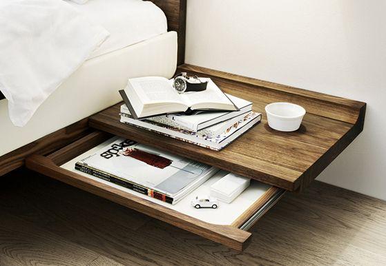 Riletto Bed by Team 7 from Karkula #interiordesign #design #interiors #furniture…