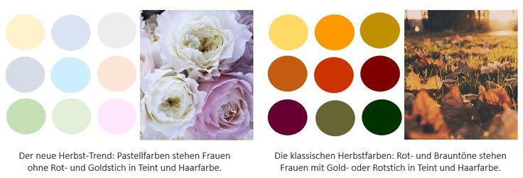 Welche Farbe Passt Zu Rosa Hose : Herbstfarben neu und klassisch – Welche Farbe passt zu Ihrem Typ