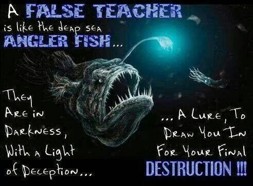 False teacher | Quotes | Pinterest | Bible, Christian ...