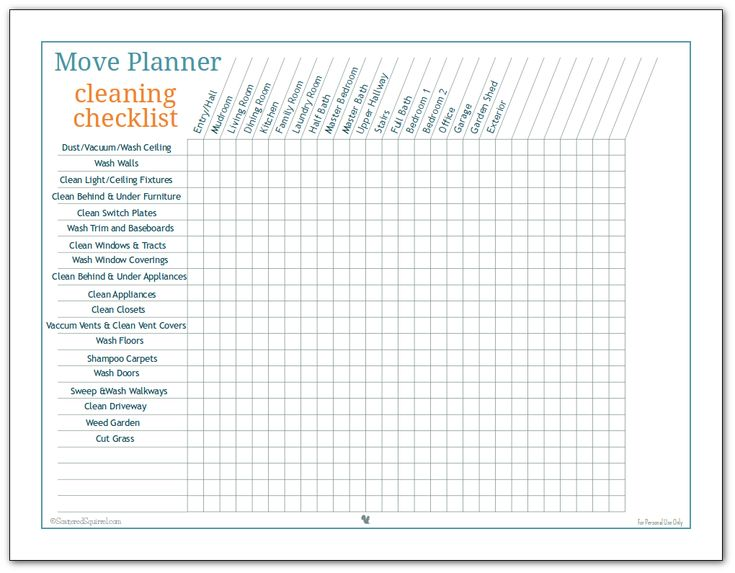 More Move Planner Printables to Help You Stay on Track. 11 best Moving home images on Pinterest