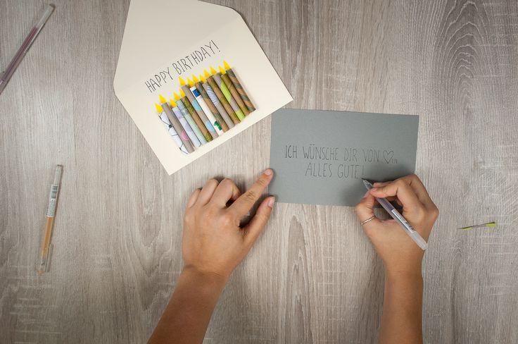 25 parasta ideaa pinterestiss geburtstagskarten selber. Black Bedroom Furniture Sets. Home Design Ideas