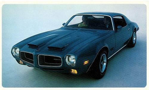 1970 Pontiac Firebird Formula 400. Delightful.