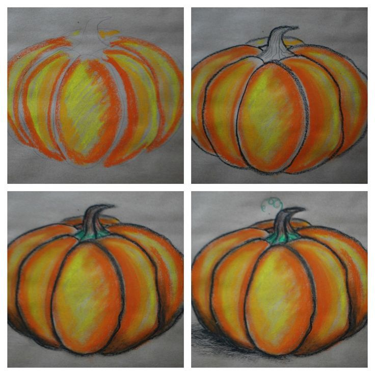 Drawing Pumpkins 101