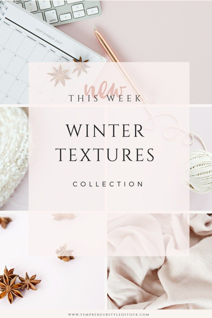 winter textures styled stock photos
