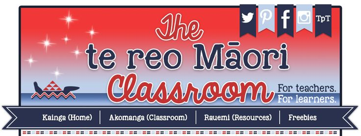 Online blog about incorporating Te Reo into the classroom, written by a teacher called Michelle - wonderful ideas