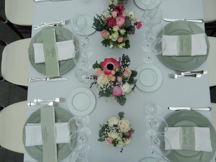 #wedding #allestimenti #fiori  #centrotavola #villabernardini
