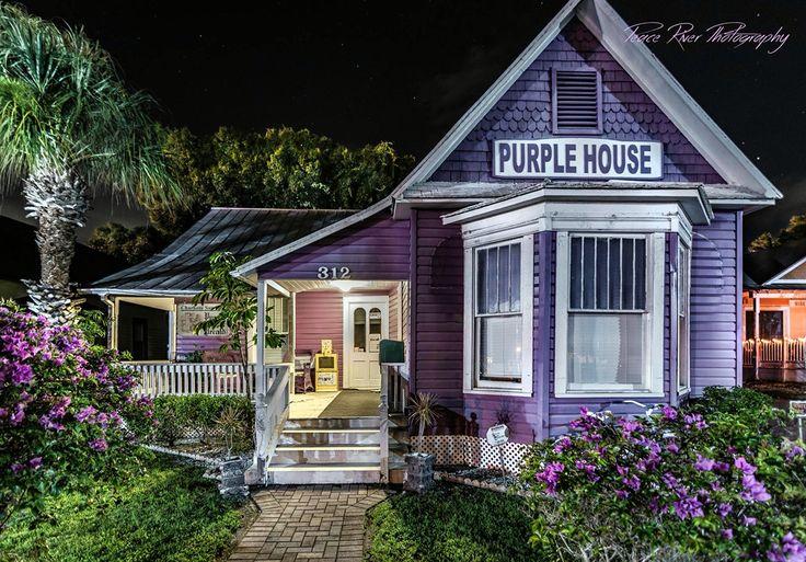 The Purple House, built in 1923.  Punta Gorda Florida