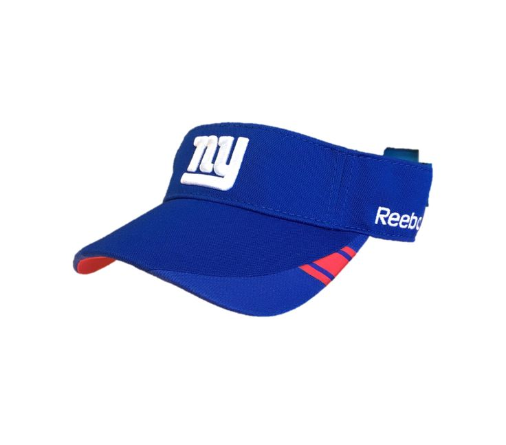 NFL New York Giants Logo Visor Hat By Reebok Team Apparel – 460 Sports