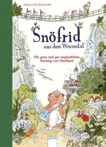 Andreas H. Schmachtl - Snöfrid aus dem Wiesental (1). Die ganz und gar unglaubliche Rettung von Nordland: Ein Snöfrid hat es eigentlich gern ruhig. Aber wenn mitten in der Nacht drei Feen-Männlein vor der Tür stehen, kann das nur eins bedeuten: Mehr Aufregung, als Snöfrid lieb ist. Prinzessin Gunilla ist entführt worden – und Snöfrid soll angeblich genau der Richtige sein, um sie zu retten. Dazu muss er wohl zu einer langen, abenteuerlichen Reise aufbrechen ...