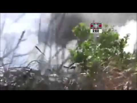 "War in Ukraine. The Ambush for the Kiev Battalion ""Aydar"". Real fight"
