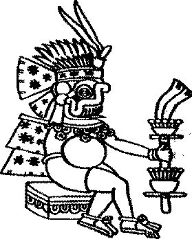 """Tlaloc. God of Rain. """"Spiritually, it is knowledge that only comes as a blessing for those who have awaken their powers of intuition(...)"""""""