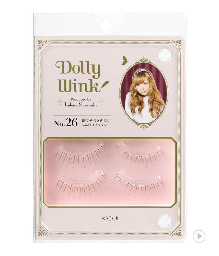 Dolly Wink Eyelash No.26 Brown Sweet