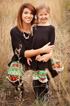 Mommy Fiesta Leggings - Ryleigh Rue Clothing by MVB