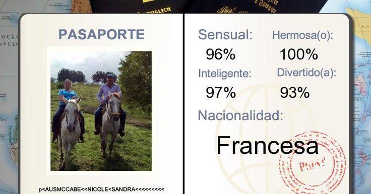 ¿De qué nacionalidad aparentas ser?