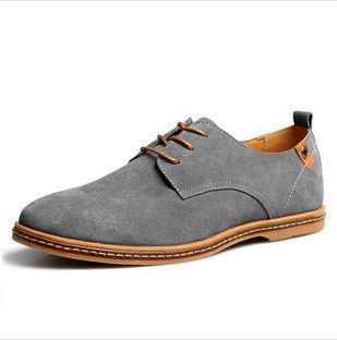 European style genuine leather Shoes Men's oxfords california casual Loafers, sneakers for Men Flats shoes✖️More Pins Like This One At FOSTERGINGER @ Pinterest✖️