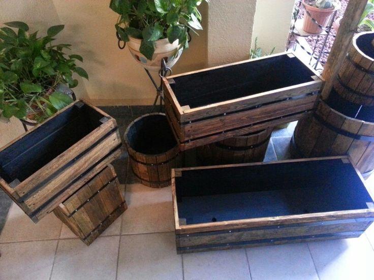 17 best images about jardineras de madera on pinterest - Jardineras de madera caseras ...