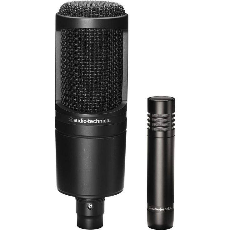 Audio-Technica – AT2020 Cardioid Condenser Studio Microphone - Best Microphone For YouTube Gaming and Streaming #YoutubeGamingMics #StreamingMics #TheGreatSetup