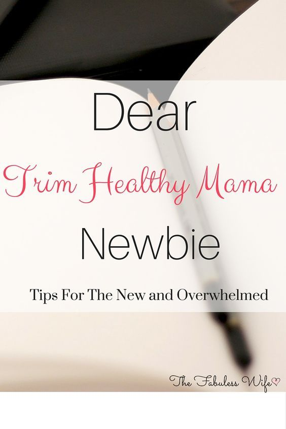 Are you new to the Trim Healthy Mama way of life? Here are some tips to help you overcome beginners obstacles!