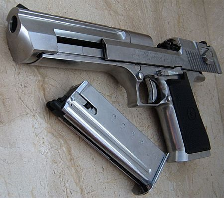 Image detail for -IMI Desert Eagle pistol - Elite magazine for elite warriors!