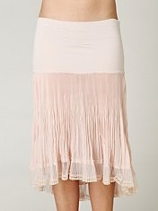 Free People slips- half and full, worn as dresses and as layering pieces.  I got tons of ideas here.