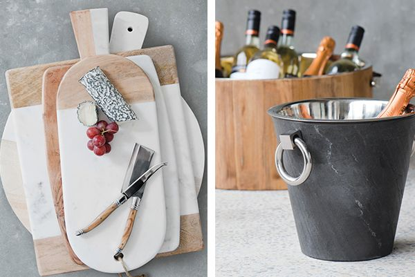 Wheel & Barrow wine bucket