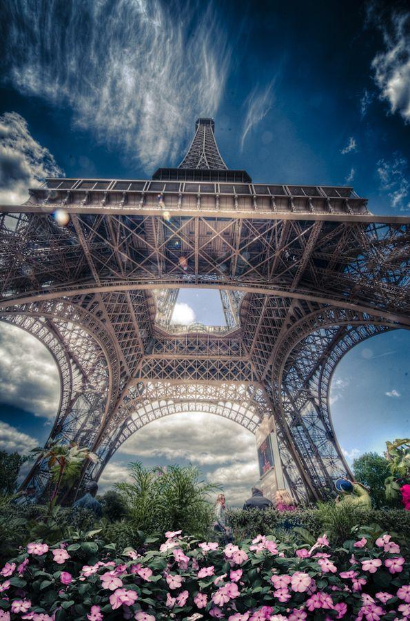 Eiffel Tower by Alex Hill,