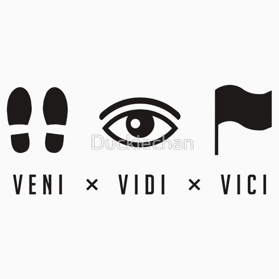 viddy well little brother viddy well  Veni, vidi, vici - i came i saw i conquered.