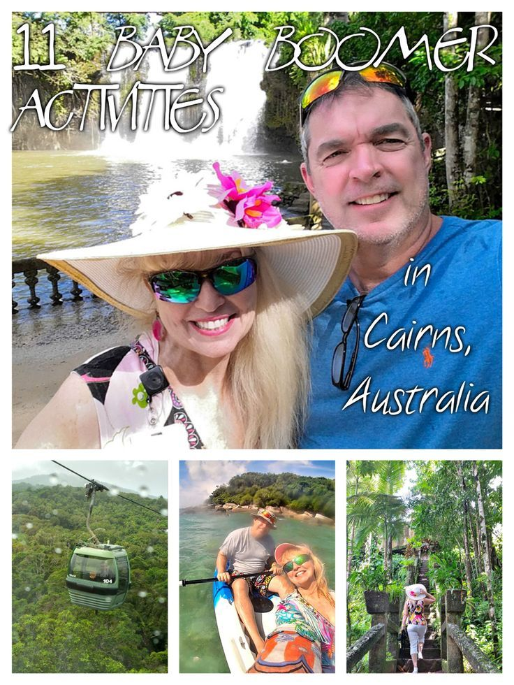 Cairns in tropical northeast Queensland is stylish and laid-back; a central location for baby boomer exploration of an area of adventure and culture.