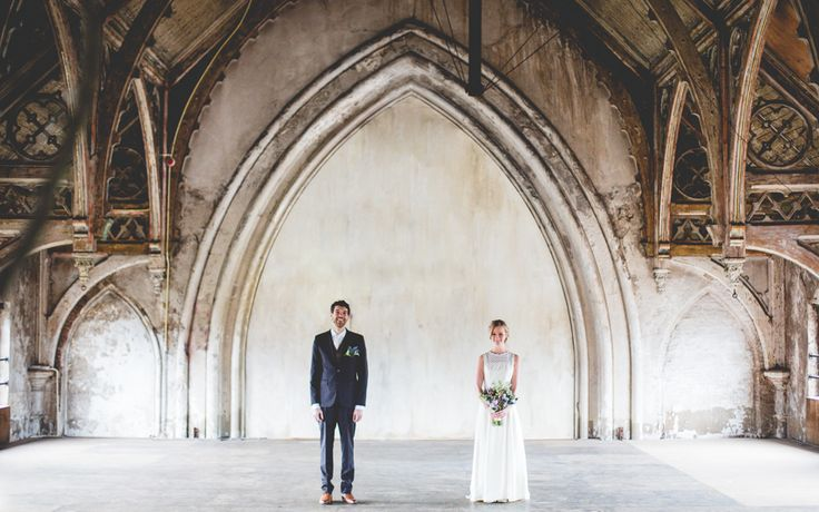 Bruidsreportage Peter & Channah Metaal Kathedraal Utrecht